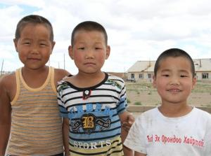 Mongolian cuties
